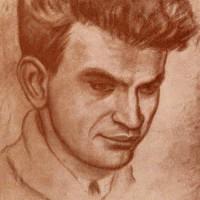 Портрет. Художник Н. Э. Радлов. 1935.